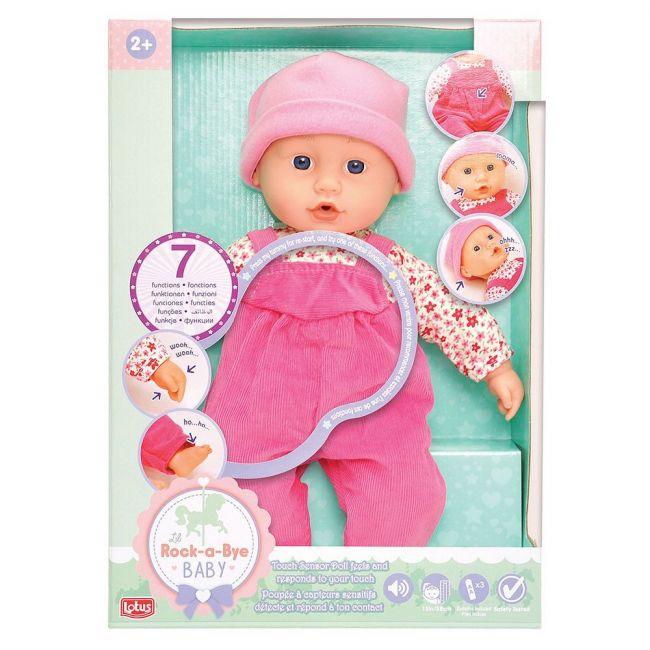 Lotus - Electronic Doll 38Cm Pink