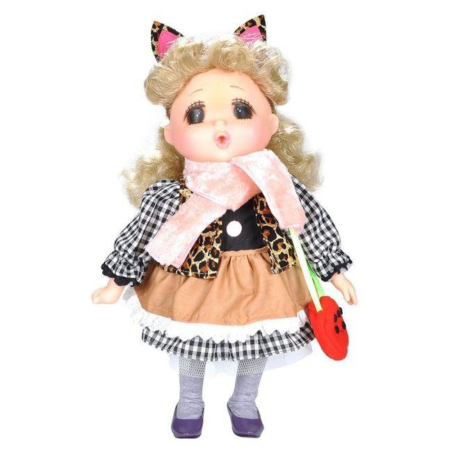Lotus - Gege Soft Bodied Akiba Blonde Girl Doll 15 Black