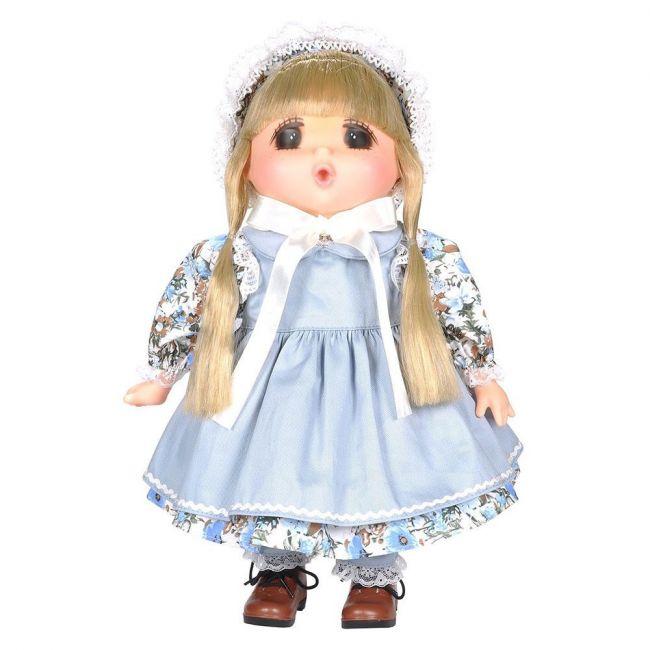 Lotus - Gege Soft Bodied Original Blonde Girl Doll 15 Blue