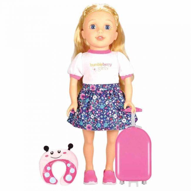 Lotus - Soft Bodied Girl Doll Brinley Travel Set