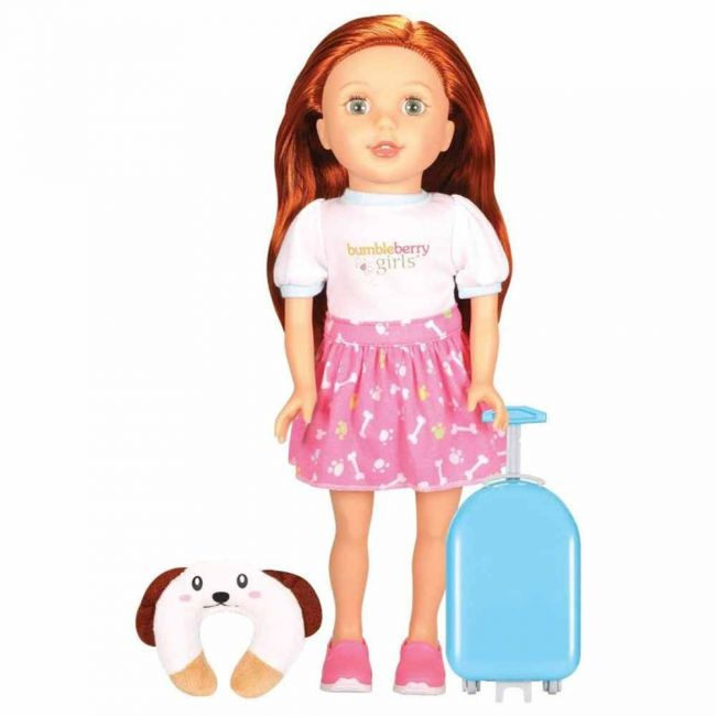 Lotus - Soft Bodied Girl Doll Cassidy Travel Set