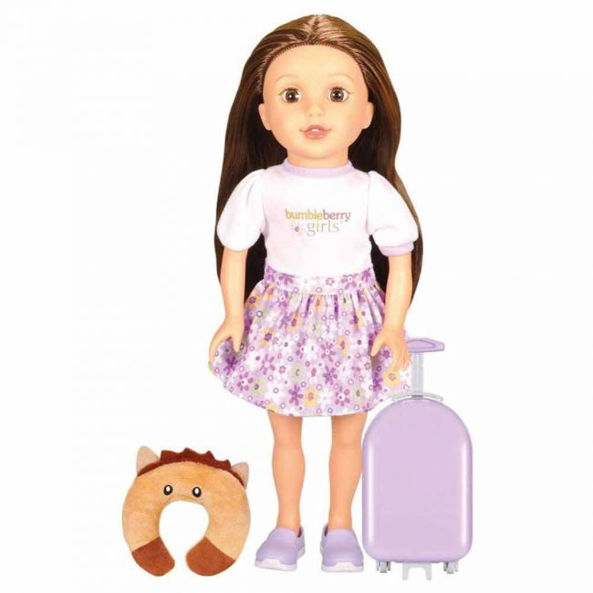 Lotus - Soft Bodied Girl Doll Caucusian Travel Set