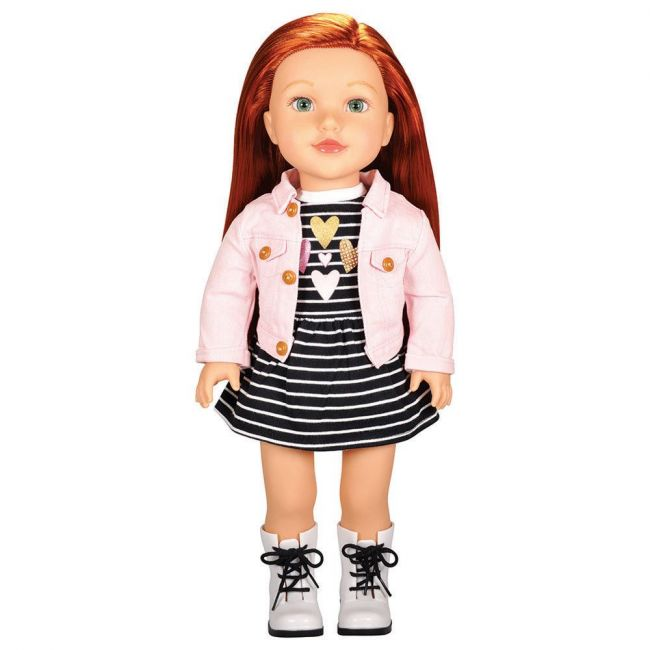 Lotus - Soft Bodied Poseable Girl Doll Brinley