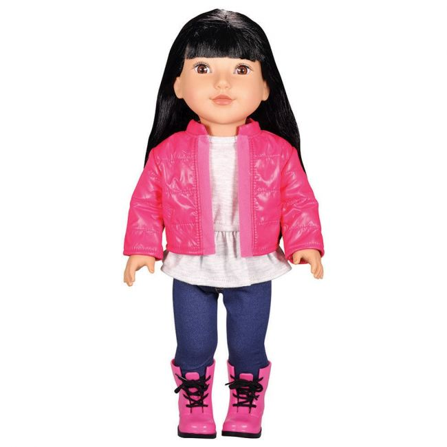 Lotus - Soft Bodied Poseable Girl Doll Jaimee