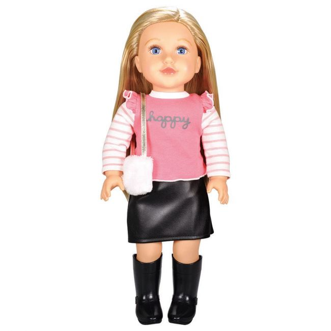 Lotus - Soft Bodied Poseable Girl Doll Serena
