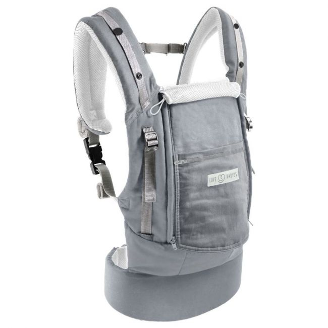 Love Radius Physiocarrier Cotton - All Grey