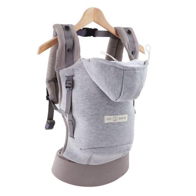 Love Radius The Hoodie Carrier Jpmbb Coton - Athletic Grey