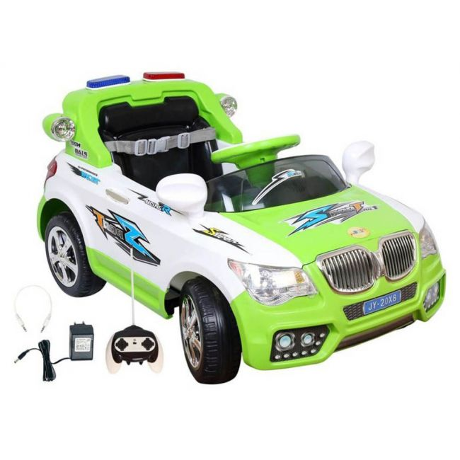Lovely Baby - Powered Riding Car LB 208R (Green) 100% Assembled.