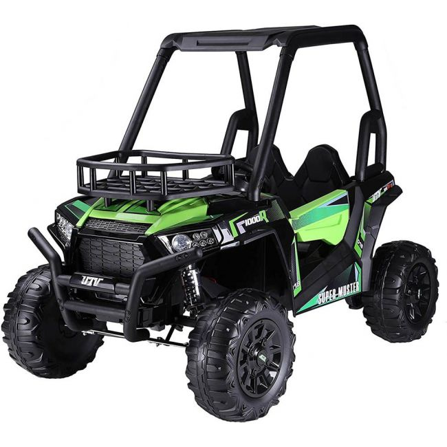 Lovely Baby - Powered Riding Jeep SUV 360 (Green) 100% Assembled