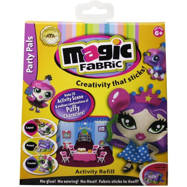 Magic Fabric - Activity Refill Assortment Of 3