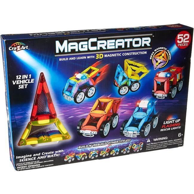 Magtastix - Mag Creator 52 Piece Vehicle Set