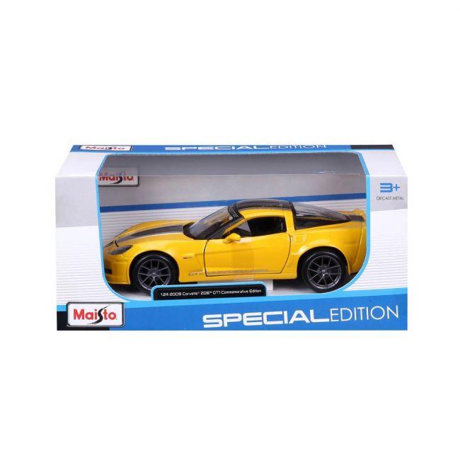 Maisto - 1 24 Scale Special Edition 2009 Chevrolet Corvette Gt 1 Commemorative Edition