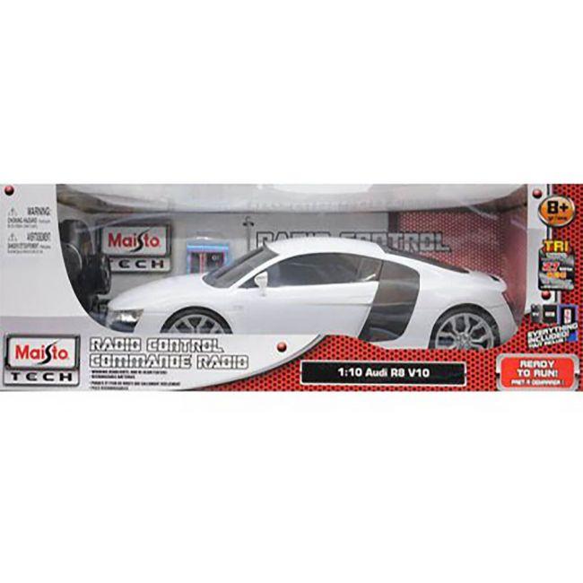 Maisto Tech - Radio Controlled 1 10 Scale 2 4 Ghz Audi R 8 V 10