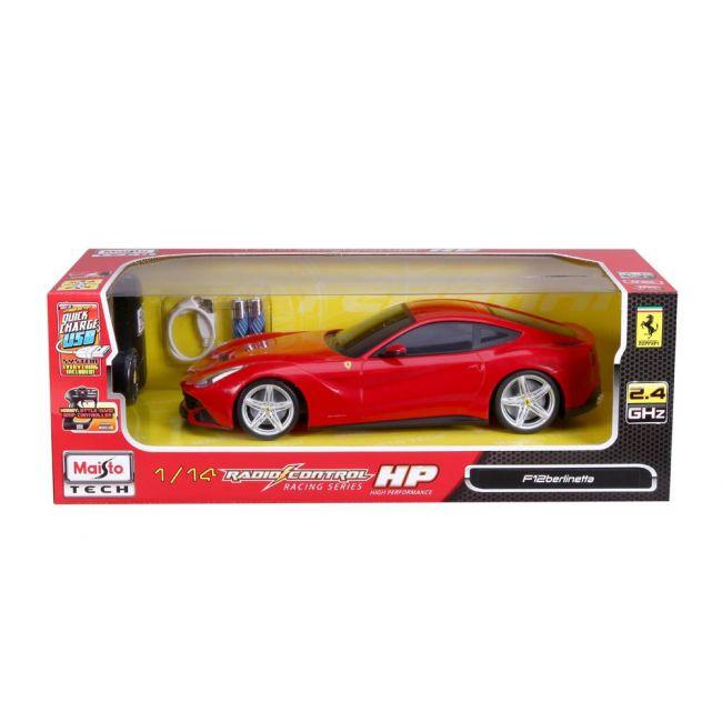 Maisto Tech - Radio Controlled 1 14 Scale 2 4 Ghz Usb Version Ferrari F 12 Berlinetta Red
