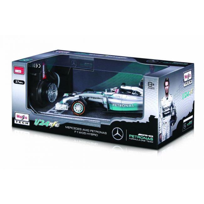 Maisto Tech - Radio Controlled 1 24 Scale Mercedes Benz Formula One F1 W 05 Hybrid