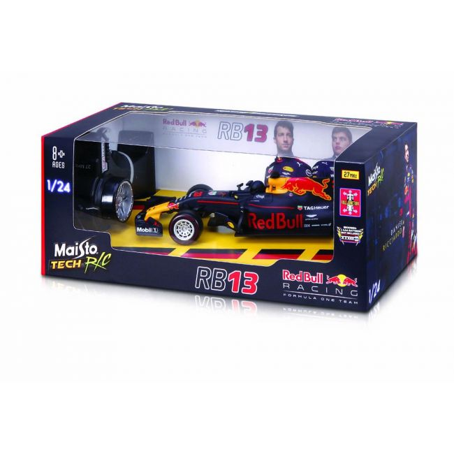 Maisto Tech - Radio Controlled 1 24 Scale Red Bull Racing Rb 13