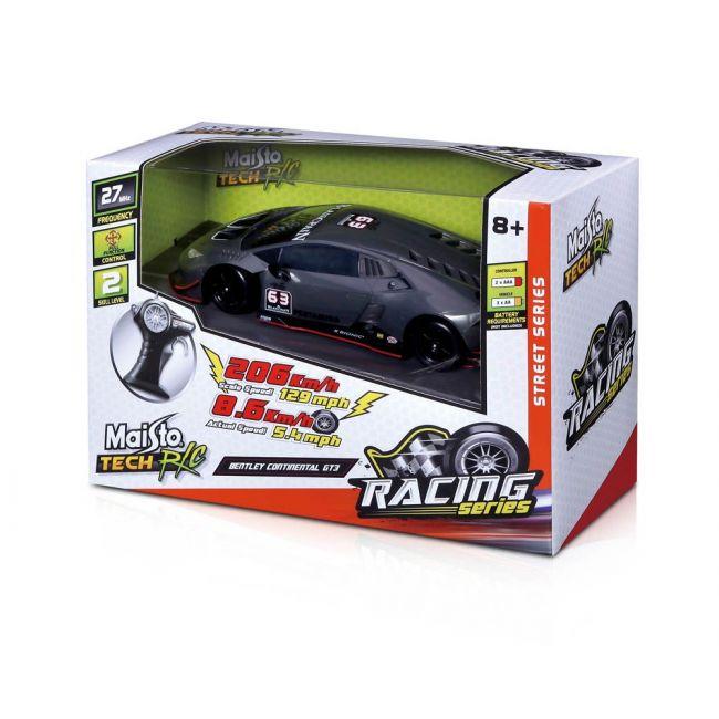 Maisto Tech - Radio Controlled 1 24 Scale Street Series Bentley Continental Gt 3 Black