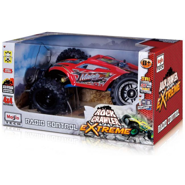 Maisto Tech - Radio Controlled Rock Crawler Extreme Blister Body With Battery Charger