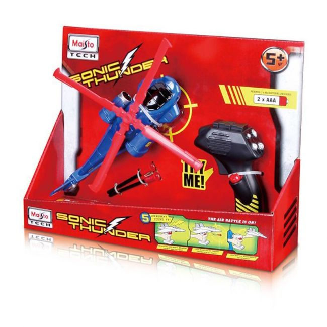 Maisto Tech RC Sonic Thunder Attack Helicopter Toy