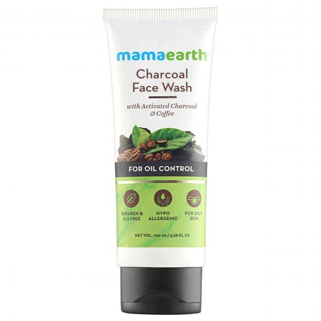 Mama Earth - Charcoal Face Wash For Mama 100 Ml