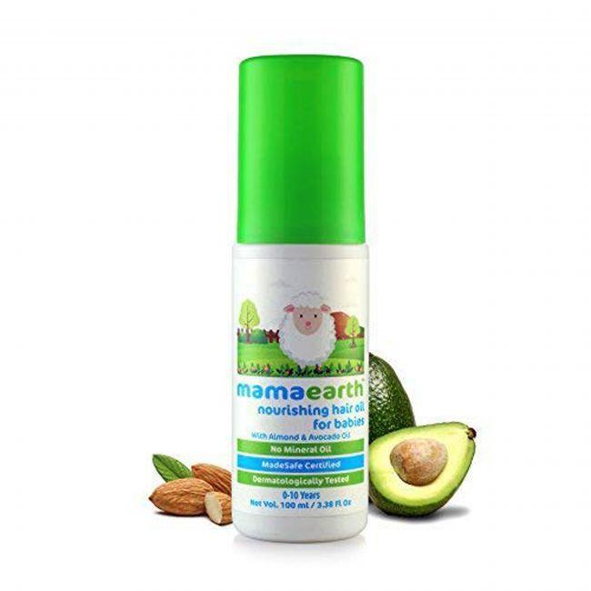 Mama Earth - Nourishing Hair Oil For Babies 100 Ml