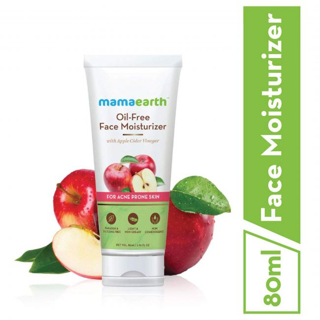 Mama Earth - Oil Free Moisturiser 80 Ml