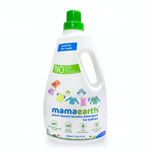 Mama Earth - Plant Based Laundry Detergent 1000 Ml