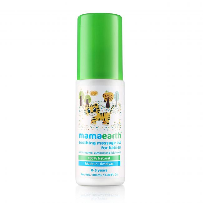 Mama Earth - Soothing Massage Oil 100 Ml