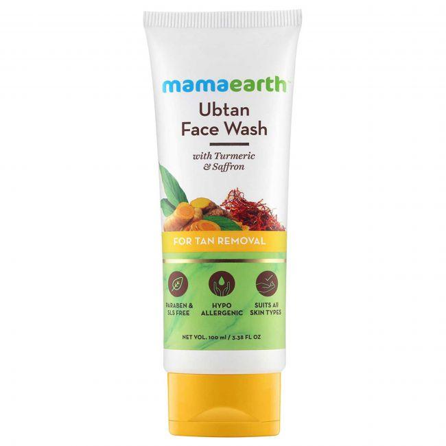 Mama Earth - Ubtan Face Wash For Mama 100 Ml