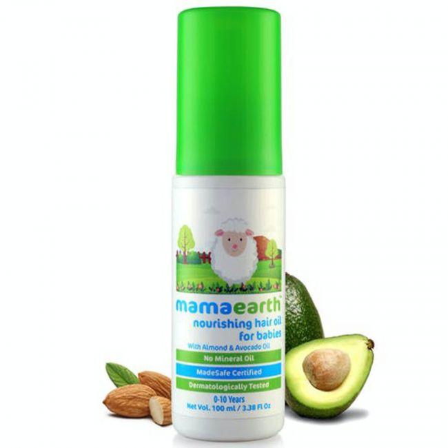 Mamaearth - Nourishing Hair Oil For Babies - 100Ml
