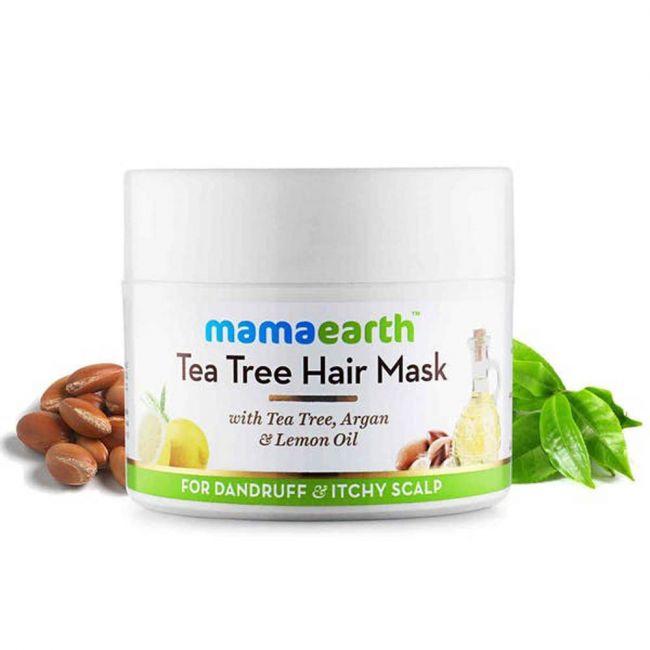 Mamaearth - Tea Tree Anti Dandruff Hair Mask - 200Ml