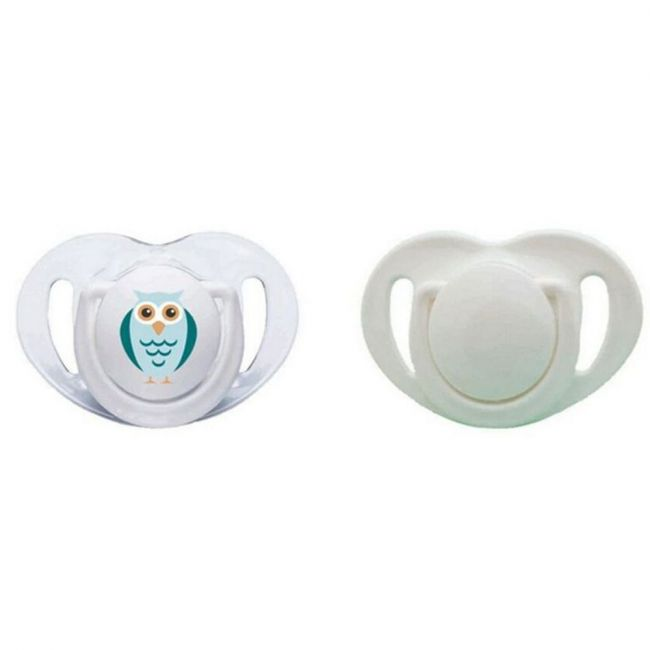Mamajoo - Orthodontic Double Silicone Pacifier - 12Months