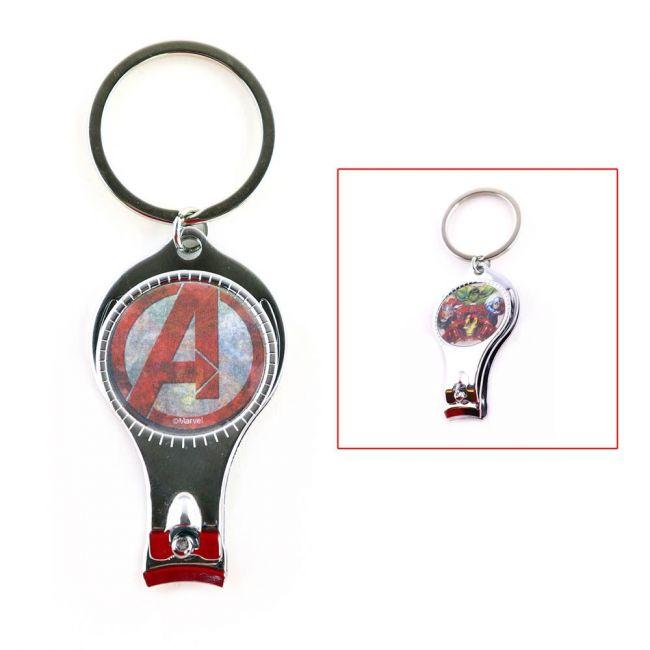 Marvel - Avengers Kids 3D Lenticular Keychain / Nail Cutter