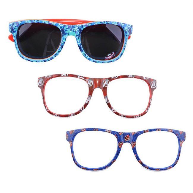 Marvel - Avengers Kids Interchangeable Frame Sunglasses Set