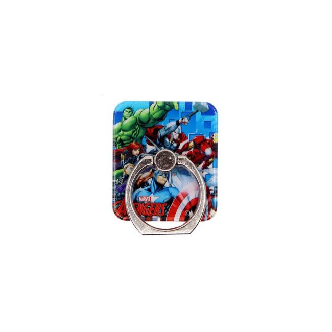Marvel - Avengers Mobile Phone Holder / Kickstand With 360 Rotation And 180 Flipping