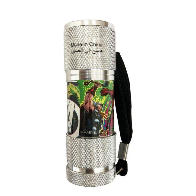 Marvel - Avengers Portable Led Torch Flashlight Includes Wrist Strap