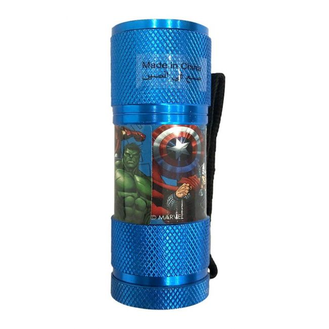 Marvel - Avengers Portable Led Torch Includes Wrist Strap