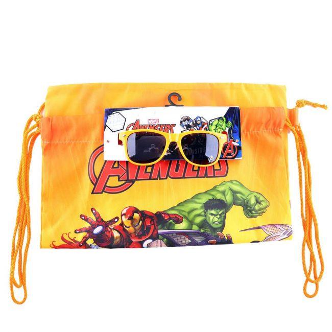 Marvel - Avengers Printed Drawstring Bag With Sunglasses