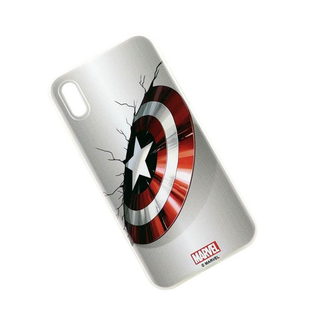 Marvel - Captain America Printed Phone Case For Iphone X