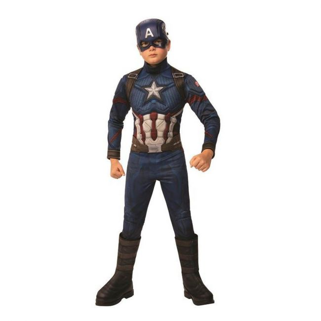 Marvel - Comics Avengers End Game Official Deluxe Captain America Costume