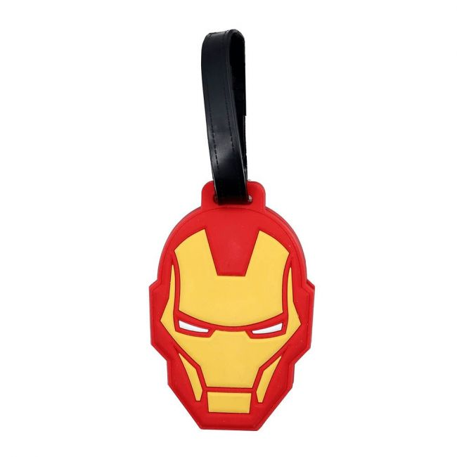 Marvel - Ironman Soft Pvc Character Luggage/Suitcase/Backpack Tags