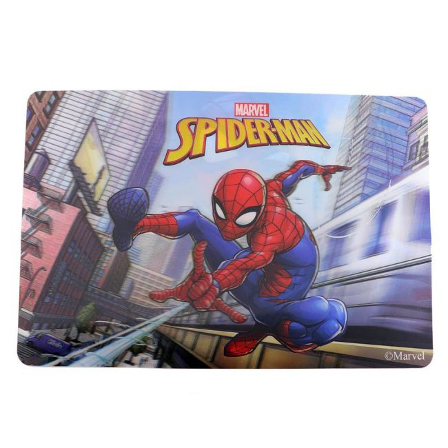 Marvel - Spiderman Pack Of 2 3D Table Mat