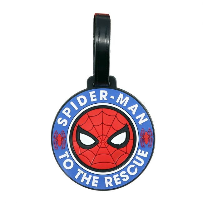 Marvel - Spiderman Soft Pvc Character Luggage/Suitcase/Backpack Tags