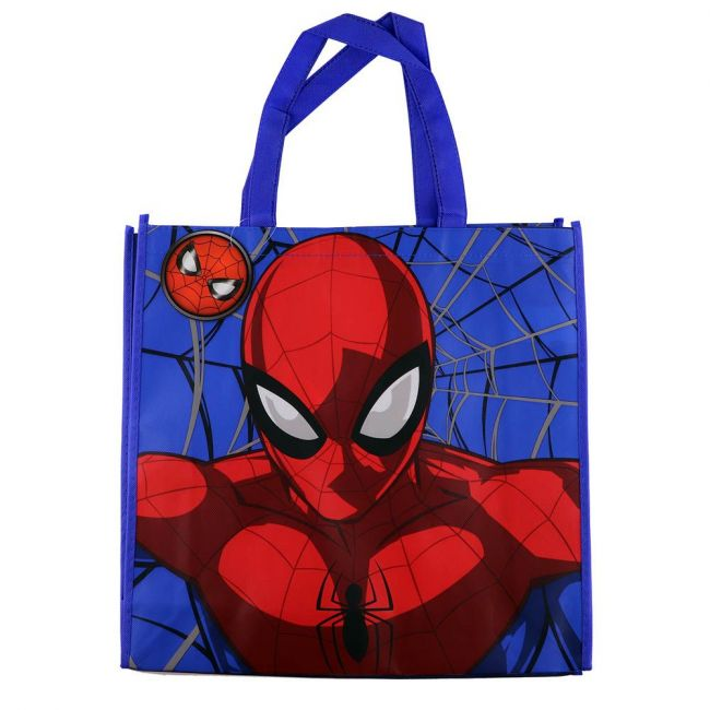 Marvel - Spiderman Tote Bag Grocery Eco Friendly Bags Reusable Foldable Shopping Bag