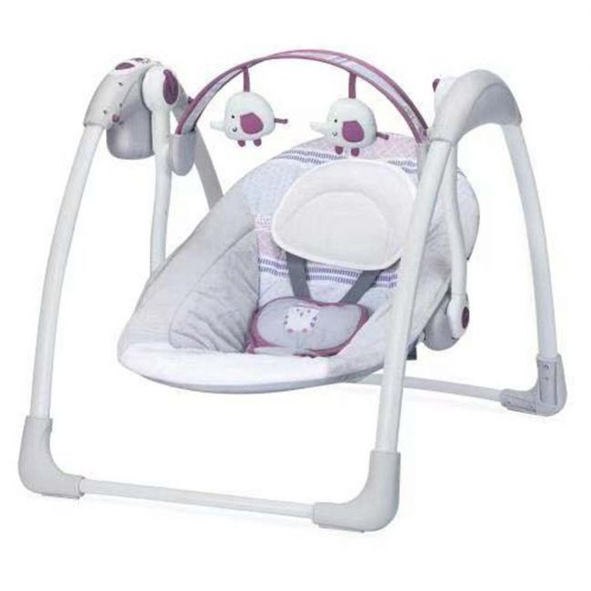 Mastela Deluxe Portable Swing - White
