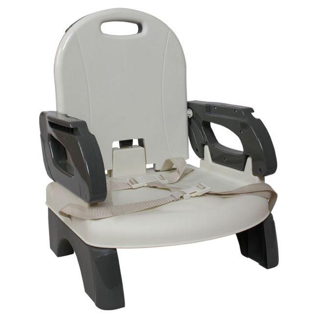 Mastela Folding Booster Seat - White/Grey