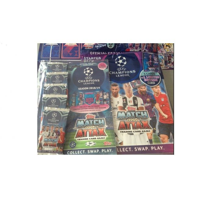 Match Attax - Topps Champions League 18 19 Multi Pack