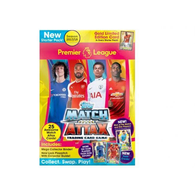 Match Attax - Topps Premier League 17 18 Starter Pack Uae