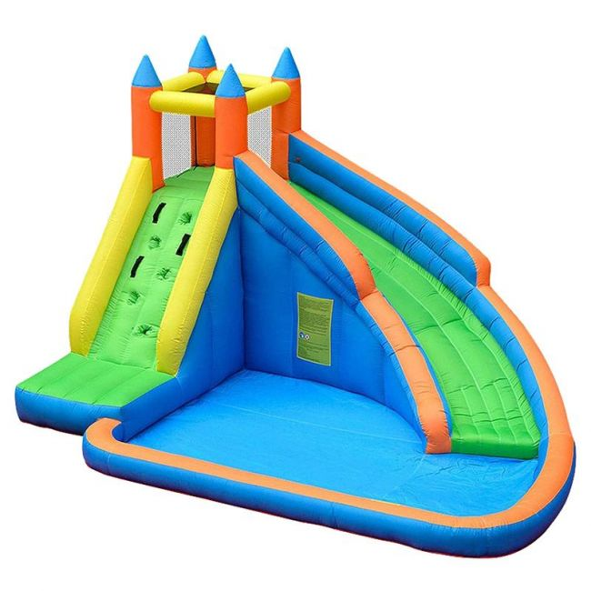 Myts - Inflatable Bounce House Jumping Castle W/ Water Slide