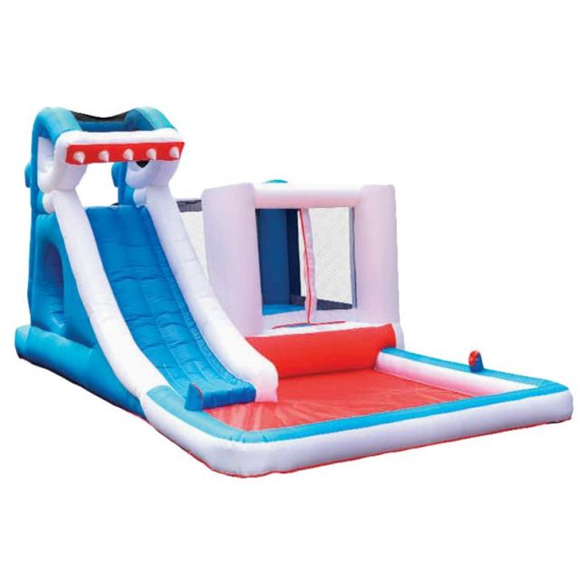 Myts - Inflatable Shark Water Slide Bounce House Jumper